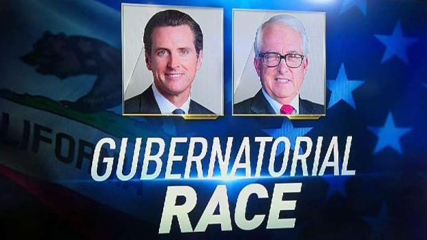 Calif. Gubernatorial Race Sees Double-Digit Lead