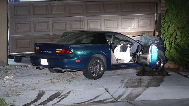 [DGO] Camaro Crashes into Carmel Valley Home