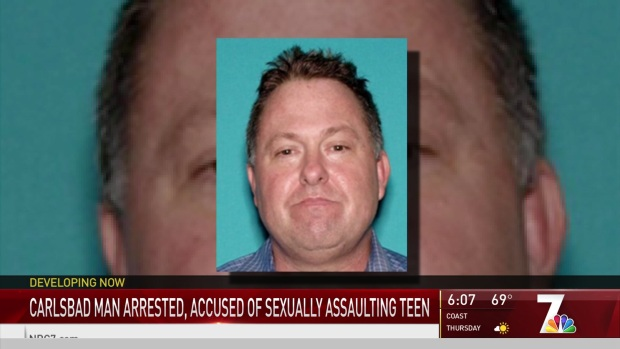 [DGO] Carlsbad Man Accused of Teen's Sexual Assault