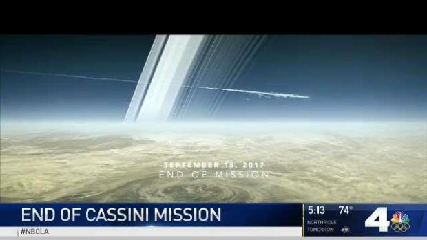 [NATL-LA] Cassini Probe's Mission to Saturn Comes to an End
