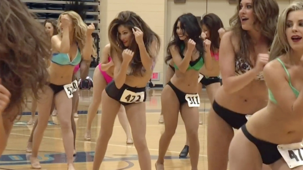 [G]2014 Charger Girls Tryouts