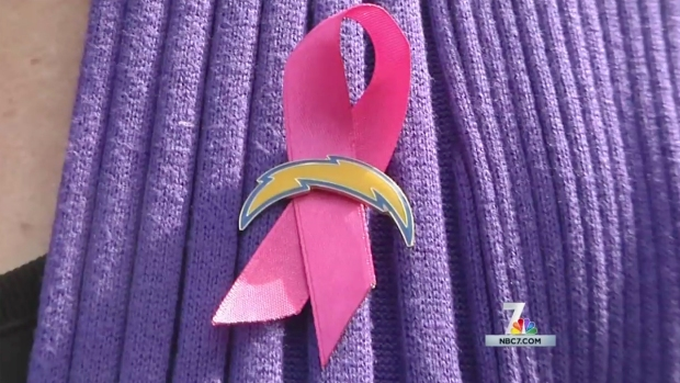 [DGO] Chargers Host 'Think Pink' Event