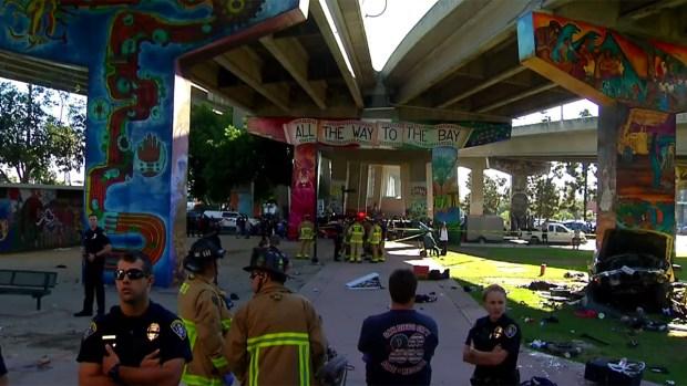 [DGO] DUI Suspect's Truck Flies Off Coronado Bay Bridge, Kills 4
