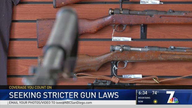 [DGO] Mayor of Chula Vista Wants to Push Congress for Stricter Gun Laws