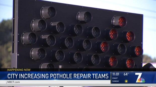 [DGO] City Triples Number of Pothole Repair Teams
