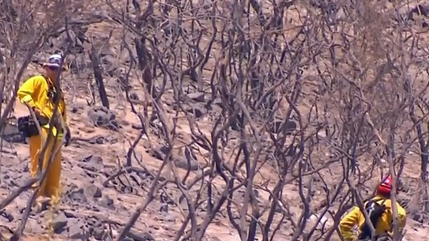 [DGO] WATCH: Crews Jump on Hot Spots in Cocos Fire