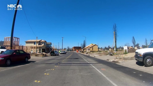 Tour of Coffey Park as it Rebuilds After the Fires