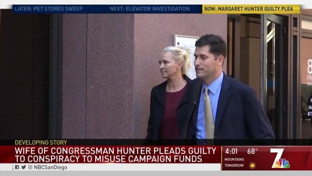 [DGO] Congressman Hunter's Wife Pleads Guilty