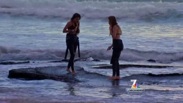 [DGO] El Nino Storms Uncover Shipwreck Off San Diego Coast