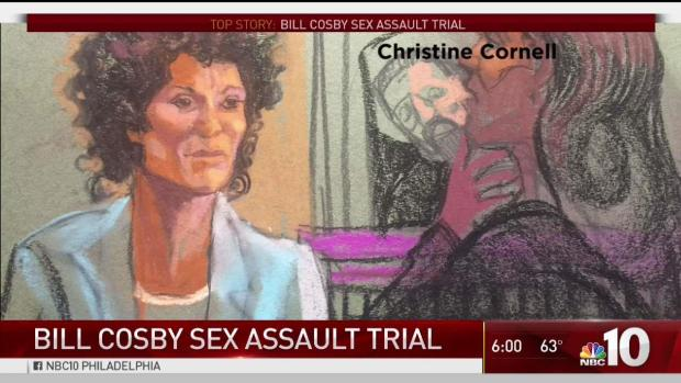 Cosby's accuser present as comedian's trial continues
