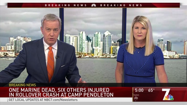 [DGO] Camp Pendleton: Marine Killed in Crash