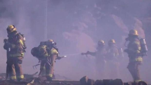 [DGO] Crews Battle Ramona House Fire