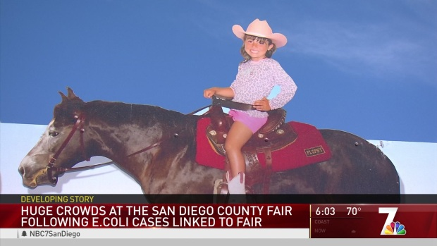 [DGO] Huge Crowds at San Diego County Fair Following E. Coli Cases