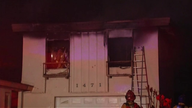 [DGO] Firefighters Battle Chula Vista House Fire