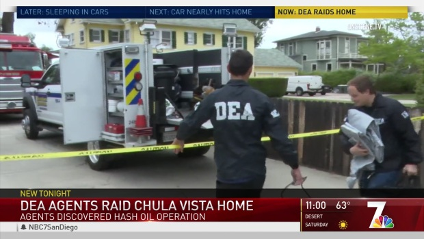 DEA Finds Fentanyl, Hash Oil Lab in Chula Vista Home