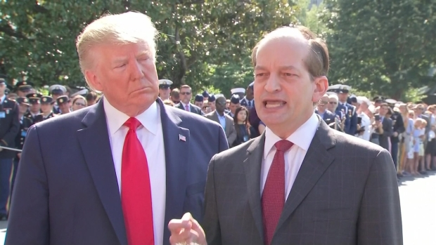[NATL] Trump on Acosta Resignation Decision: 'It Was Him, Not Me'