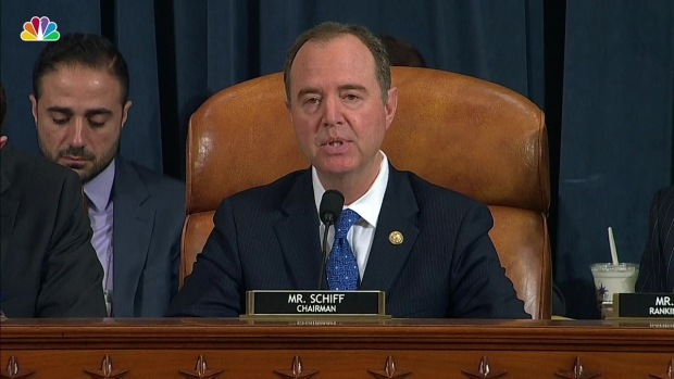 WATCH: Adam Schiff's Opening Statement From Impeachment Hearing With Sondland