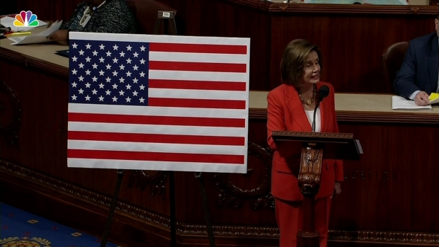 [NATL] Pelosi on Impeachment Resolution: 'What Is At Stake Is Our Democracy'