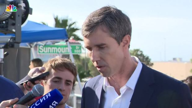 [NATL] O'Rourke Blames President Trump for El Paso Shooting