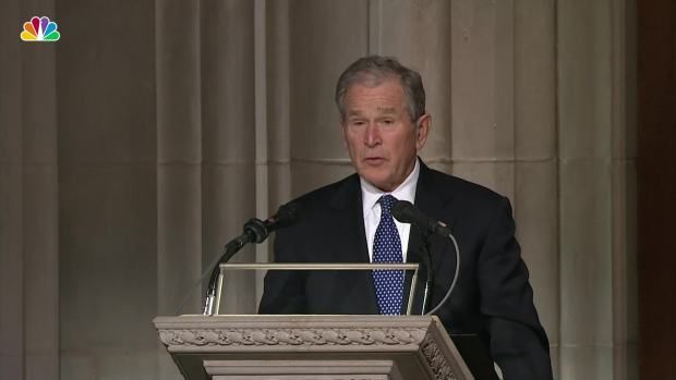 [NATL] George W. Bush's Full Eulogy for His Father, George H.W. Bush