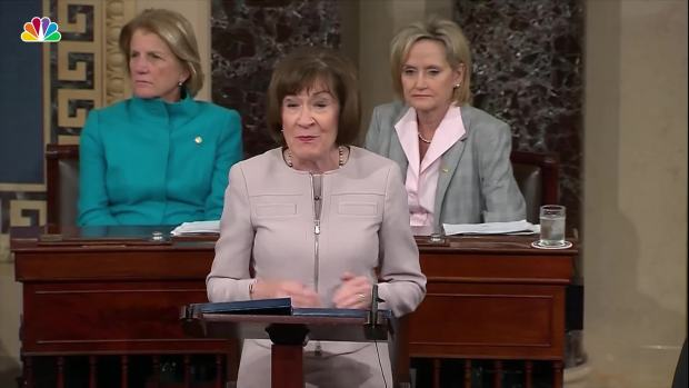 [NATL] Watch: Sen. Collins Full Speech on Kavanaugh