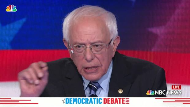 [NATL] Sanders Says He'll Defend Roe v. Wade