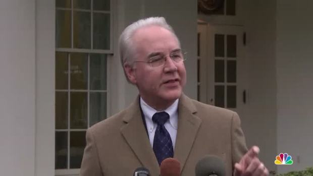 [NATL] HHS Secretary Price: 'CBO Simply Has it Wrong'