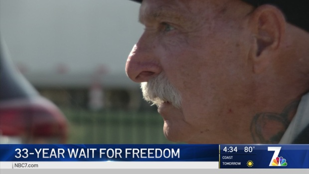Man Released From Prison 33 Years After Wrongful Murder Conviction