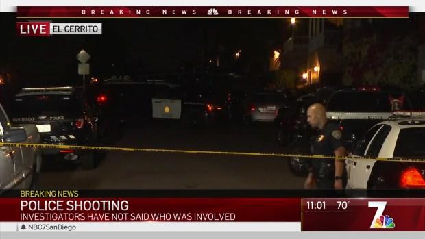 Officer Involved Shooting in El Cerrito