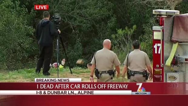 [DGO] 1 Killed in I-8 Rollover