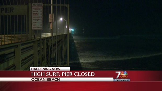 [DGO] High Surf Shuts Down OB Pier