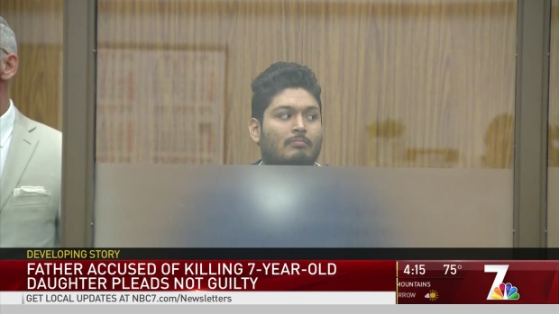 Father Accused of Killing Seven-Year-Old Daughter Pleads Not Guilty