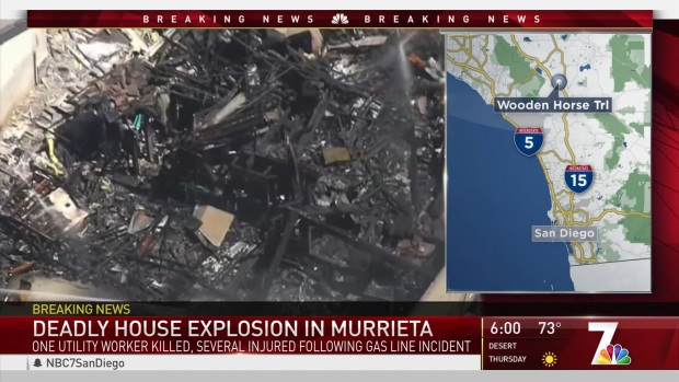 Deadly House Explosion in Murrieta