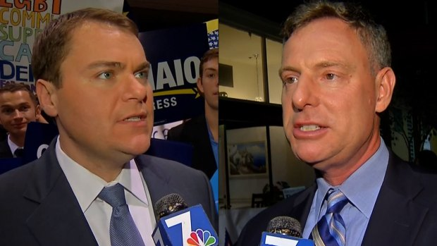 Peters, DeMaio React to Early Election Results