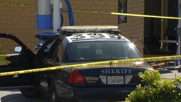 Images: San Diego Deputy Stabbed, Suspect Shot