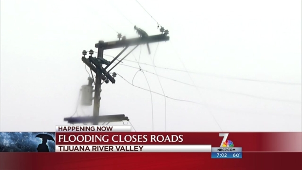 [DGO] Flooding Closes Roads in Tijuana River Valley