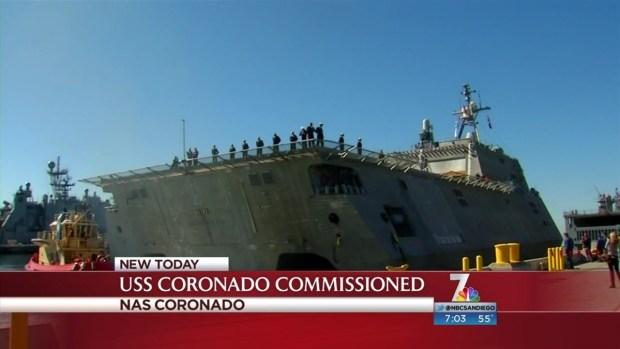[DGO] USS Coronado Commissioned