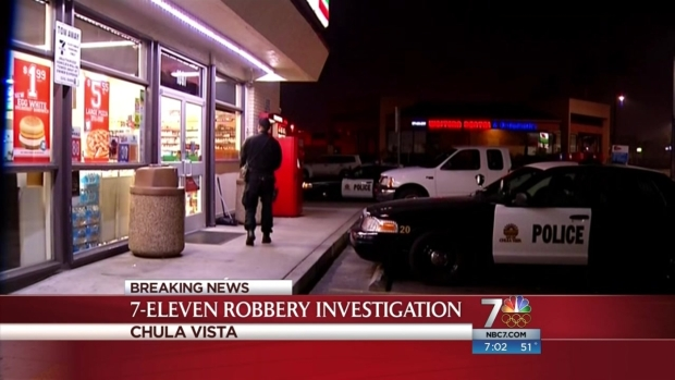 [DGO] Suspect Sought in Chula Vista Armed Robbery