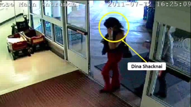Security Camera Video Exonerates Dina Shacknai
