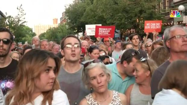 'Do Something': Crowd Screams to Ohio Gov. During Vigil
