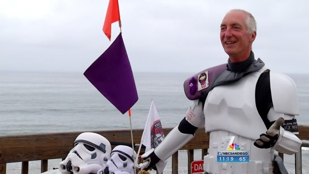Man Walks 600 Miles in Stormtrooper Costume