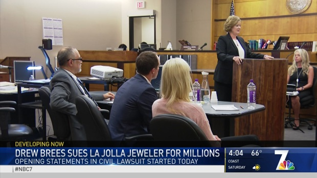 [DGO] Drew Brees Sues La Jolla Jeweler for Millions