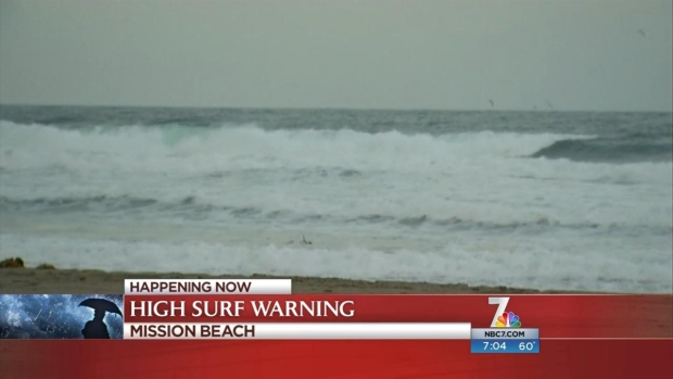 [DGO] Storm Brings High Tide, Surf to Beaches