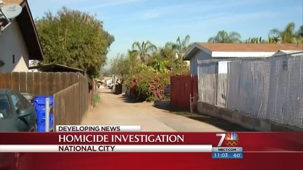 [DGO] Detectives Investigate Suspsicous Death in National City