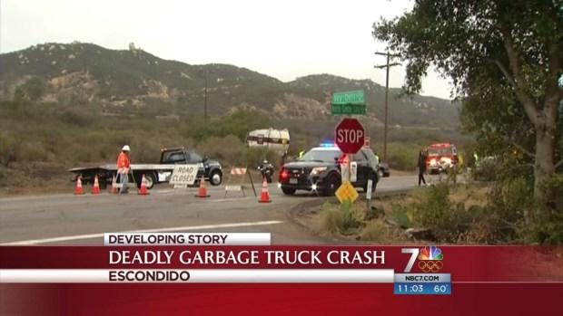 [DGO] 1 Killed in Fatal Garbage Truck Crash