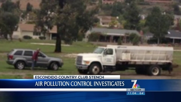 [DGO] Manure at Escondido Country Club Causes Stink