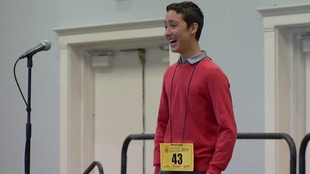 Poway Teen Wins Countywide Spelling Bee