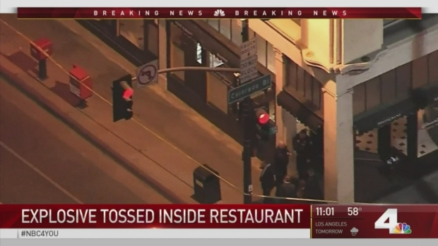 Explosive Device Thrown into Crowded Old Town Pasadena Restaurant