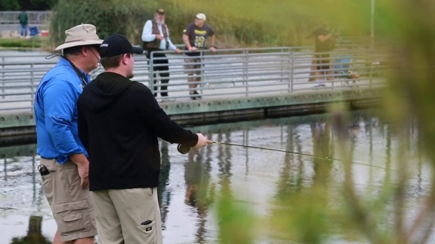 Fly Fishing Helping Heal Veterans
