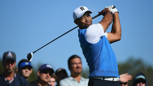 Fans Flock to Tiger Woods at Torrey Pines